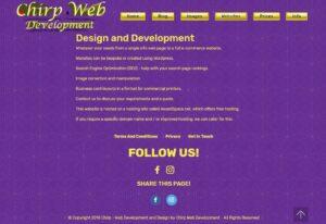 Cool streamlined faster website